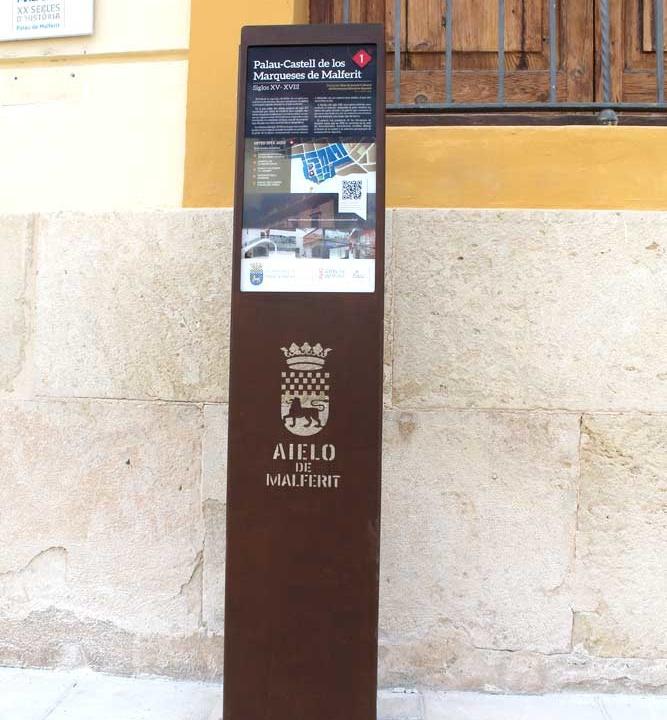 Museo Aielo de Malferit - señalética