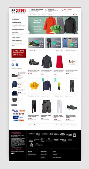 Protecs tienda online