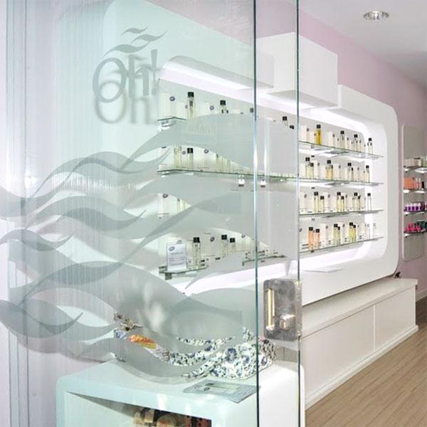 Oh! Parfums vinilos entrada