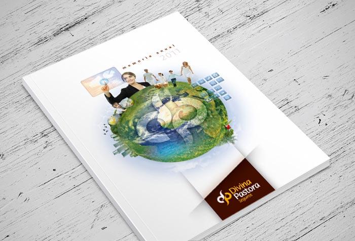 Divina Pastora diseño portada catálogo
