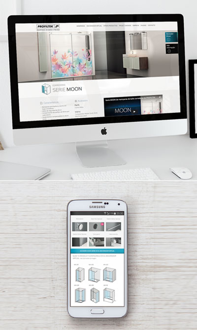 Profiltek web responsiva