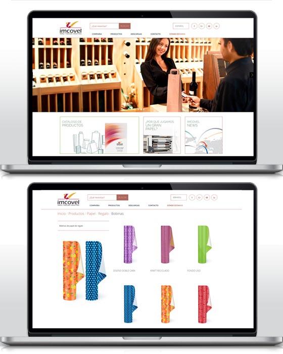 Imcovel web catálogo