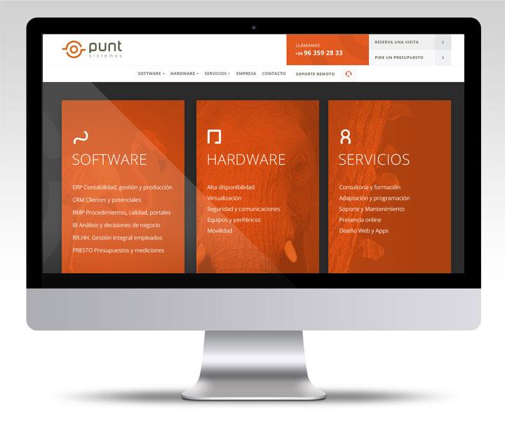 Punt Sistemes web