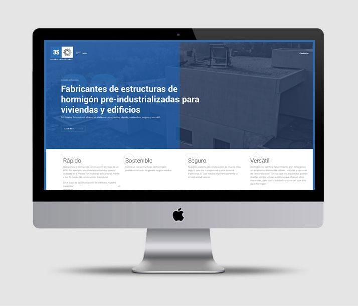 Diseño web 3S Diseño Estructural